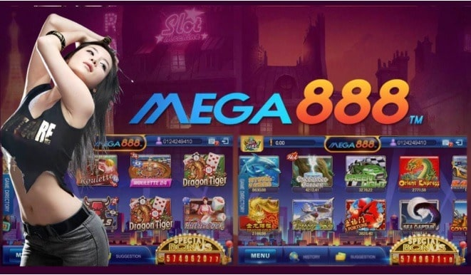Mega888 Website